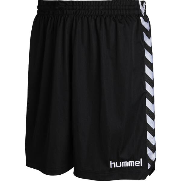 HUMMEL Herren Teamhose Stay Authentic Poly Shorts Schwarz
