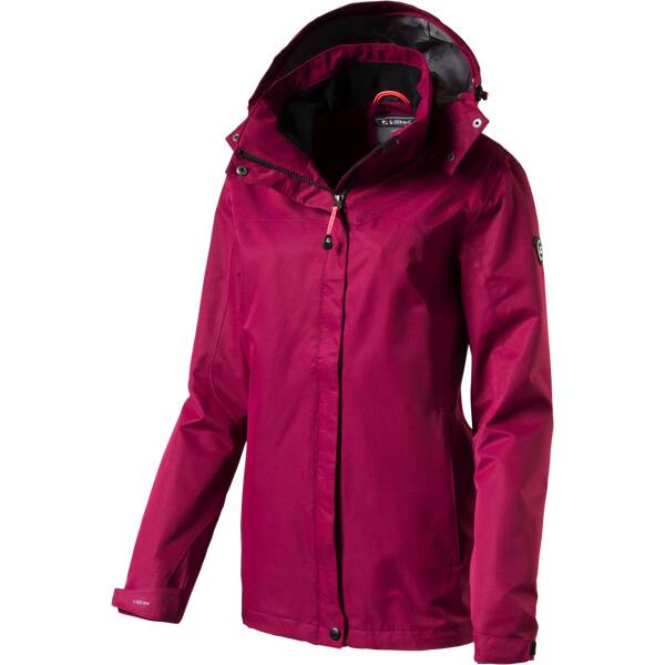 KILLTEC Damen Funktionsjacke Inkele Rot