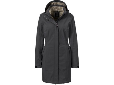 KILLTEC Damen SOFTSHELLPARKA 3 Schwarz