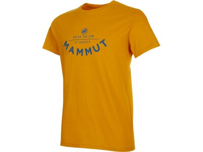 MAMMUT Herren Shirt Seile Orange