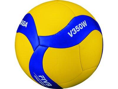 MIKASA Volleyball V350W Gelb