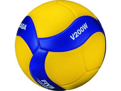 MIKASA Ball V200W-DVV Gelb
