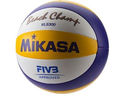 MIKASA Beachvolleyball Beach Champ VLS 300, ÖVV Weiß