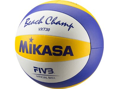 MIKASA Beachvolleyball Beach Champ VXT30 Weiß