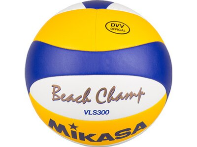 MIKASA Beachvolleyball Beach Champ VLS 300, DVV Grau