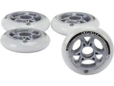 POWERSLIDE Inline-Skates-Rollen-Set Infinity II 90 mm Weiß
