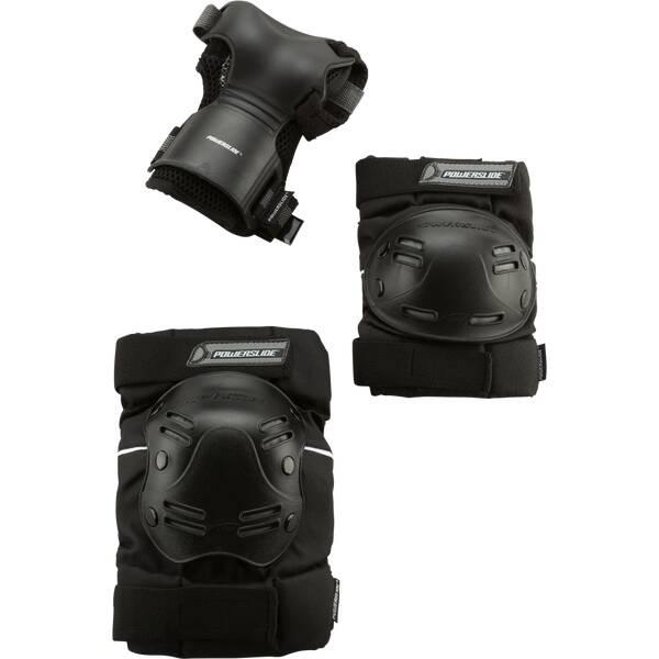POWERSLIDE Schoner Tri-Pack mit Pro Wristguard