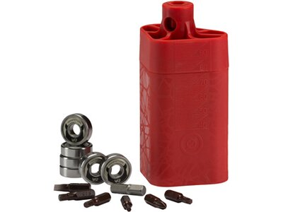 POWERSLIDE ILQ7 608, 16-Pack- Inline Silber