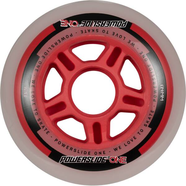 POWERSLIDE Inlineskates-Rollen-Set One Wheels 84mm