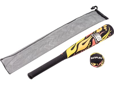 SUNFLEX Baseballschläger FIREWORKS Grau