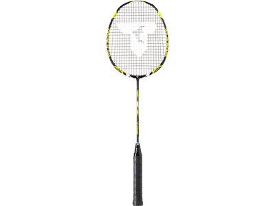 TALBOT/TORRO Badmintonschläger ISOFORCE 611.2 C4, BLACK-YELLOW Schwarz
