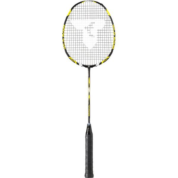 TALBOT/TORRO Badmintonschläger ISOFORCE 611.2 C4, BLACK-YELLOW
