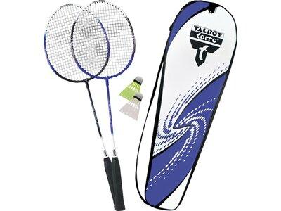 TALBOT/TORRO Badmintonset 2-FIGHTER IM THERMOBAG Blau