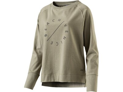 VENICE BEACH Damen Sweatshirt Richi Grün
