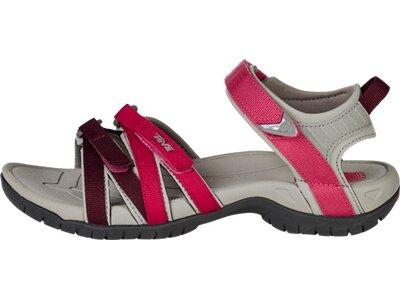 TEVA Damen Sandale Tirra Leder Rot