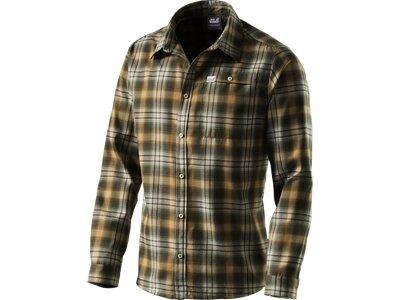 JACK WOLFSKIN Herren Hemd Gifford Shirt Men Grün