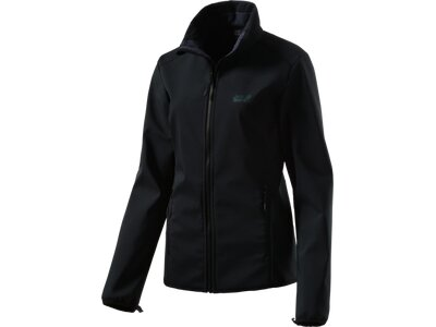 JACK WOLFSKIN Damen Softshell-jacke Element Track Women Schwarz