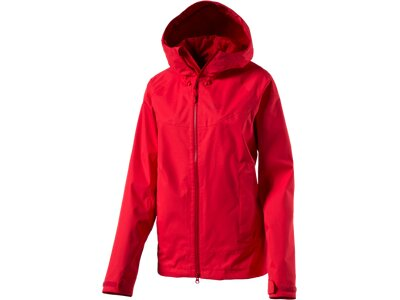 JACK WOLFSKIN Damen Wetterschutzjacke North Ridge Women Rot