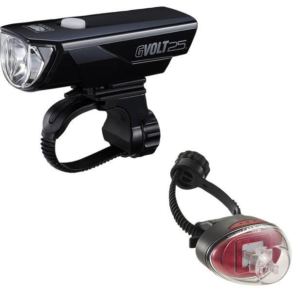 CATEYE Beleuchtungsset EL360GRC/LD611G