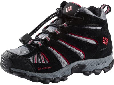 COLUMBIA Kinder Walkingschuhe North Plains Mid Waterproof Grau