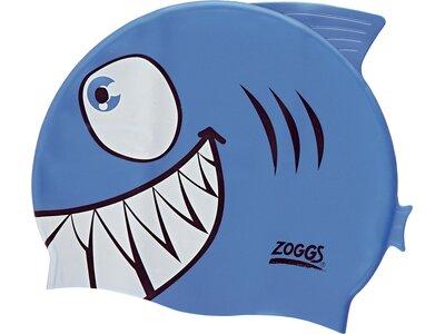 ZOGGS Kinder BadekappeJunior Character Silicone Blau