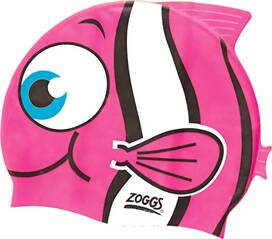 ZOGGS Kinder Badekappe Junior Character Silicone