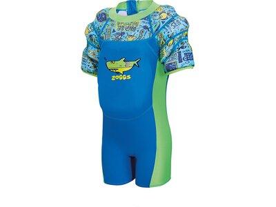 ZOGGS Kinder SchwimmanzugDeep Sea Water Wing Float Blau