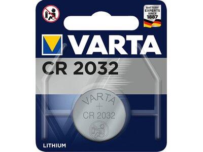 VARTA Akku Batterie Knopfzelle CR 2032 Silber