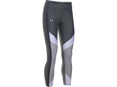 UNDER ARMOUR Damen Trainingstights / Fitnesshose UA HeatGear® Color Blocked Ankle Grau