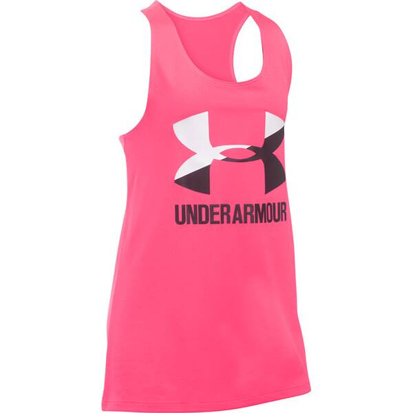 UNDER ARMOUR UNDER ARMOUR Kinder Tanktop UA Big Logo Slash Tank