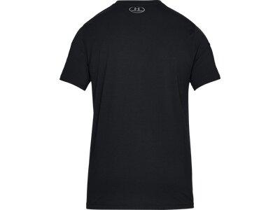 "UNDERARMOUR Herren Trainingsshirt ""UA Blocked Sportstyle Logo"" Kurzarm Schwarz"
