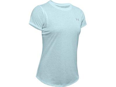 """UNDERARMOUR Damen Laufshirt """"Streaker"""" Kurzarm Blau"""