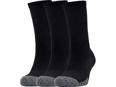 UNDER ARMOUR Herren Socken Heatgear Crew Schwarz