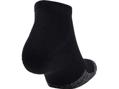 UNDER ARMOUR HeatGear® Lo Cut Socken–3er-Pack Schwarz