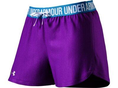 UNDER ARMOUR Damen Shorts UA Play Up Lila