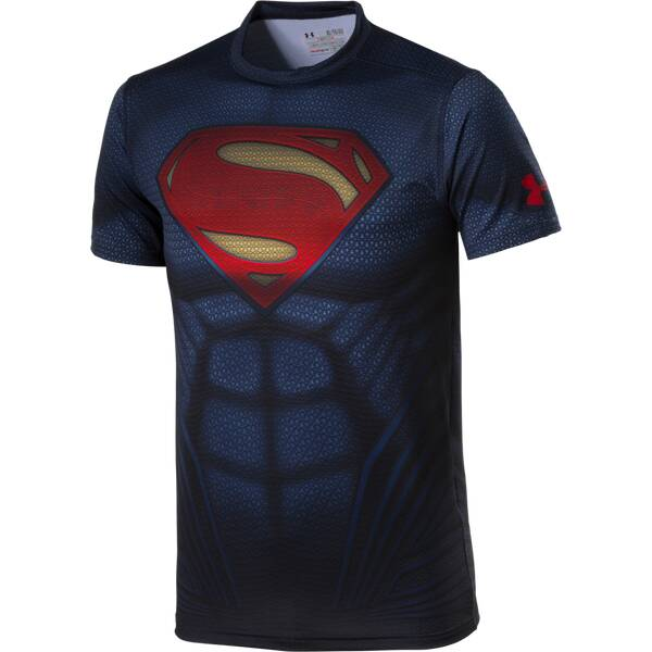 UNDER ARMOUR Herren Shirt Superman Suit SS