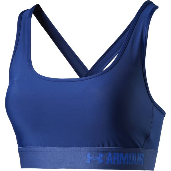 UNDER ARMOUR Damen BH Compression Crossback Mid