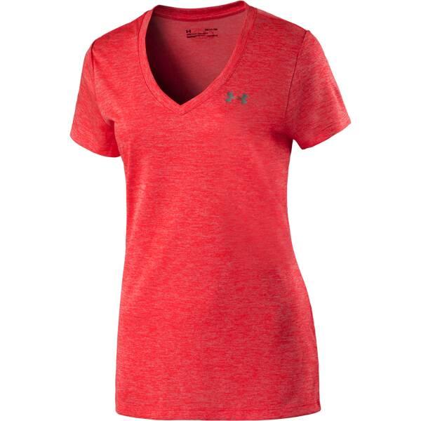 UNDERARMOUR Damen Trainingsshirt UA Tech Kurzarm Orange