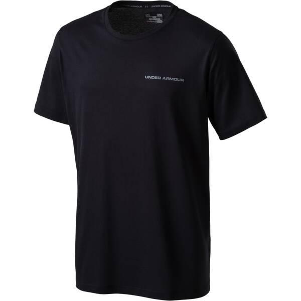 UNDER ARMOUR Herren T-Shirt Charged Cotton Schwarz