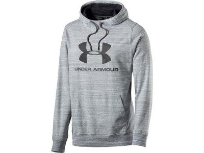 UNDER ARMOUR Herren Sweatshirt Triblend Sportstyle Logo Po Grau