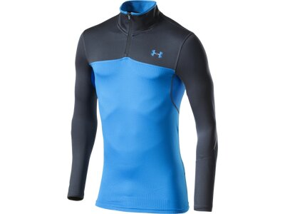 UNDER ARMOUR Herren Shirt CGI Armour Elements 1/4 Zip Blau