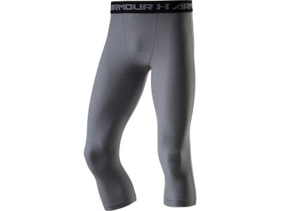 UNDER ARMOUR Herren Tight Armour Twist 3/4 Grau