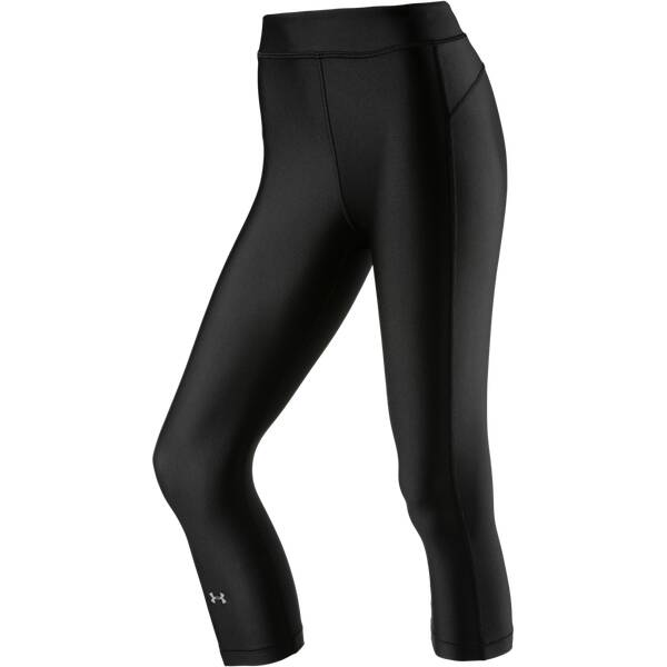 UNDER ARMOUR Damen Caprihose / Tights UA Heat-Gear Armour Schwarz