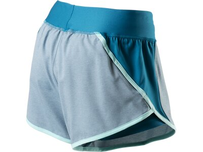 UNDER ARMOUR Damen 2-in-1-Laufshorts Launch Tulip Blau