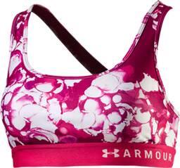 "UNDERARMOUR Damen Sport-BH ""Armour Mid Crossback Printed Bra"""