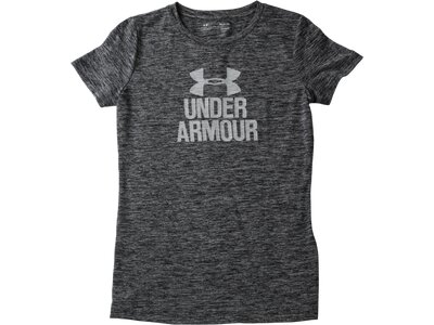 UNDER ARMOUR Damen Funktionsshirt / T-Shirt Tech Crew- Graphic Twist Grau