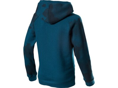 UNDER ARMOUR Kinder Kapuzensweat RIVAL WORDMARK HOODY Blau