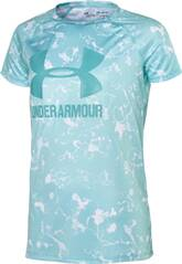 UNDER ARMOUR Kinder Hemd Big Logo Tee Novelty SS