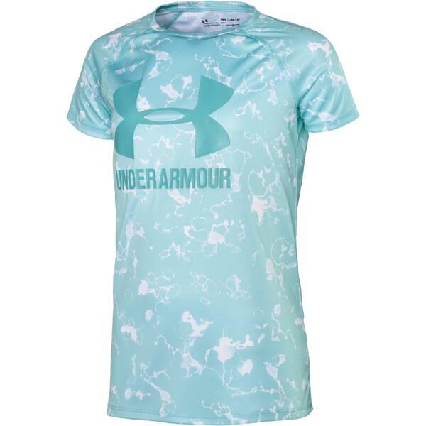 UNDER ARMOUR Kinder Hemd Big Logo Tee Novelty SS