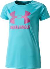 UNDER ARMOUR Kinder Hemd Big Logo Tee Solid SS